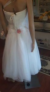 David's Bridal Dresses - Tea length gown